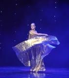 Danza del mundo de ala-Turquía del vientre de Austria de oro de la danza- Imágenes de archivo libres de regalías
