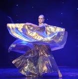 Danza del mundo de ala-Turquía del vientre de Austria de oro de la danza- Fotos de archivo