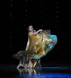Danza del mundo de diosa-Turquía del vientre de Austria de oro de la danza- Imagen de archivo