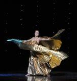 Danza del mundo de diosa-Turquía del vientre de Austria de oro de la danza- Foto de archivo