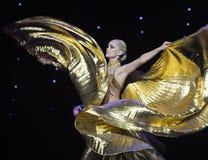 Danza del mundo de Eagle-Turquía del vientre de Austria de oro de la danza- Foto de archivo