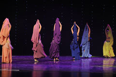 Danza del mundo de figura-Turquía del vientre de Austria de ocsilación de la danza- Foto de archivo