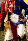 Danza del nativo americano Fotos de archivo