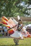 Danza del nativo americano Imagen de archivo libre de regalías