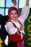 Danza del portugués Foto de archivo
