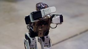 Danza del robot del Humanoid metrajes