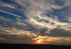 Danza del sol fotografía de archivo