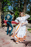 Danza del sombrero mexicano - Puerto Vallarta, México imagenes de archivo