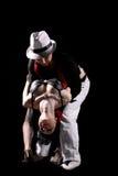 Danza del tango Fotografía de archivo libre de regalías