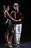 Danza del tango Foto de archivo libre de regalías