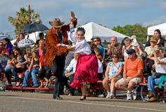 Danza del vaquero Fotos de archivo
