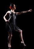 Danza elegante fotografía de archivo libre de regalías