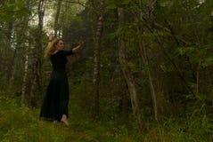 Danza en el bosque imágenes de archivo libres de regalías