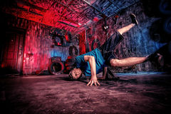 Danza en el garaje fotografía de archivo