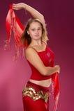 Danza erótica atractiva Foto de archivo
