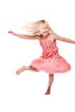 Danza feliz Imágenes de archivo libres de regalías