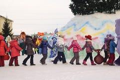 Danza festiva fotos de archivo libres de regalías
