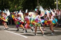 Danza festvial del Caribe Fotos de archivo libres de regalías