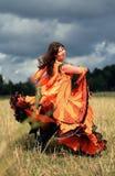 Danza gitana Fotografía de archivo libre de regalías
