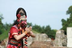 Danza III de la máscara Fotos de archivo
