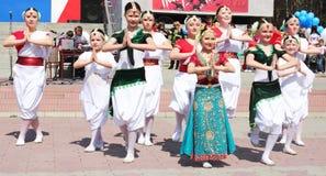 Danza india Foto de archivo libre de regalías