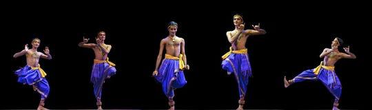 Danza india: Kalinga Nartanam Imagen de archivo libre de regalías