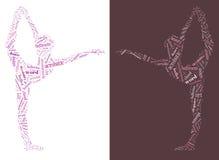 Danza Info ilustración del vector