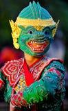 Danza Khon-Tailandesa Foto de archivo