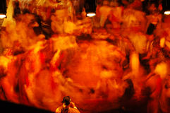 Danza mágica Imagenes de archivo