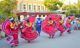 Danza mexicana espectacular Imagen de archivo