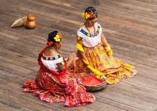 Danza mexicana típica Imagen de archivo libre de regalías