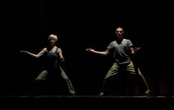 Danza moderna Fotos de archivo