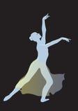 Danza moderna Fotografia Stock