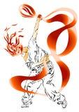 Danza moderna Imagen de archivo