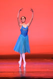 Danza moderna china Fotografía de archivo libre de regalías