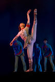 Danza moderna china: Ese año se meneó Fotografía de archivo libre de regalías