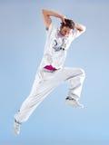 Danza moderna del hombre joven Imagen de archivo libre de regalías
