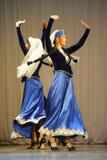 Danza nacional Imagen de archivo libre de regalías