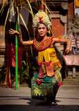 Danza nacional Barong del Balinese Imagen de archivo