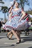 Danza nacional de Chile Imagenes de archivo