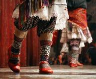 Danza nacional del turco Imagen de archivo