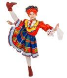 Danza nacional rusa. Imagen de archivo libre de regalías