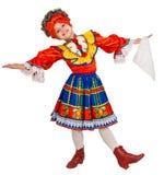 Danza nacional rusa. Fotografía de archivo libre de regalías