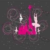 Danza para el rey en castillo libre illustration