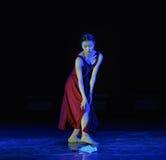 Danza Perder-moderna Fotografía de archivo libre de regalías