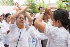 Danza popolare della gente Immagine Stock