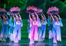 Danza popolare: Lotus Immagini Stock