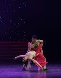 Danza popolare Salvezza-bella di Re-cinese della scimmia Immagini Stock