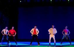 Danza popolare superiore coreana del cittadino della ciotola- Immagine Stock