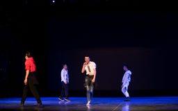 Danza popolare superiore coreana del cittadino della ciotola- Fotografia Stock
